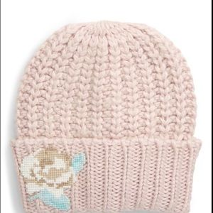 NWT Free People Everything Rosy Beanie Blush